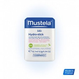 Mustela Bebé Pele Seca Hydra-Stick com Cold Cream Nutri-Protetor c/ Desconto 1€ - 10 g - comprar Mustela Bebé Pele Seca Hydra...