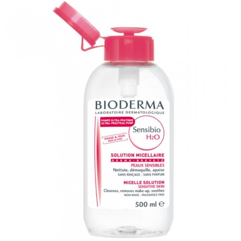 Bioderma Sensibio H2O Solução Micelar Pump Reverse - 500ml - comprar Bioderma Sensibio H2O Solução Micelar Pump Reverse - 500...
