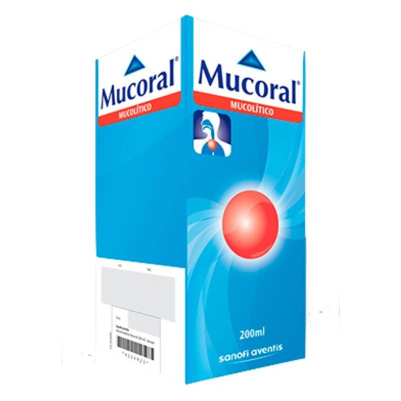 Mucoral Xarope 20 mg/mL - 200ml - comprar Mucoral Xarope 20 mg/mL - 200ml online - Farmácia Barreiros - farmácia de serviço