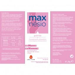 Maxnesio Gravida - 60 cápsulas - comprar Maxnesio Gravida - 60 cápsulas online - Farmácia Barreiros - farmácia de serviço