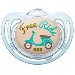Nuk Freestyle Chupeta Silicone 0-6M - 1 chupeta - comprar Nuk Freestyle Chupeta Silicone 0-6M - 1 chupeta online - Farmácia B...