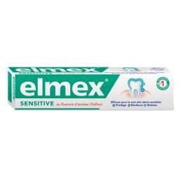 Elmex Pasta Dentes Sensitive - 75 mL - comprar Elmex Pasta Dentes Sensitive - 75 mL online - Farmácia Barreiros - farmácia de...