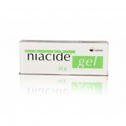 Niacide Gel - 50 g - comprar Niacide Gel - 50 g online - Farmácia Barreiros - farmácia de serviço