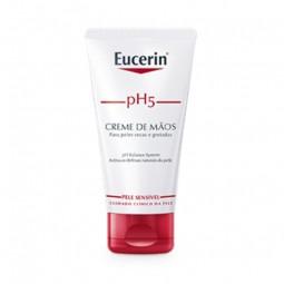 Eucerin Pele Sensível pH5 Creme Mãos - 75 mL - comprar Eucerin Pele Sensível pH5 Creme Mãos - 75 mL online - Farmácia Barreir...