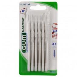 Gum Bi-Direction Escovilhão 2114 - 6 escovilhões interdentais - comprar Gum Bi-Direction Escovilhão 2114 - 6 escovilhões inte...