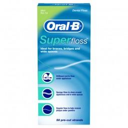 Oral-B Super Fio Dentário, Pré-cortado 50 Unidades - 50 unidades - comprar Oral-B Super Fio Dentário, Pré-cortado 50 Unidades...