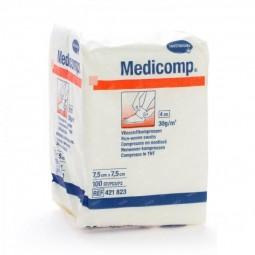 Medicomp - 100 compressas (7,5 x 7,5 cm) - comprar Medicomp - 100 compressas (7,5 x 7,5 cm) online - Farmácia Barreiros - far...