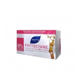 Phyto Phytocyane Ampolas Antiqueda - 12 ampolas - comprar Phyto Phytocyane Ampolas Antiqueda - 12 ampolas online - Farmácia B...