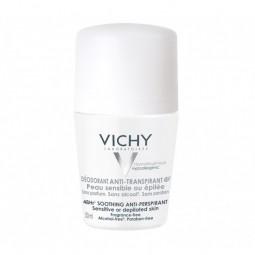 Vichy Desodorizante Roll-On Antitranspirante 48H Pele Sensível - 50 mL - comprar Vichy Desodorizante Roll-On Antitranspirante...