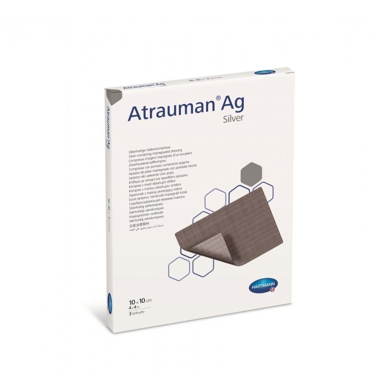 Atrauman Ag - 10 pensos (10 x 10 cm) - comprar Atrauman Ag - 10 pensos (10 x 10 cm) online - Farmácia Barreiros - farmácia de...