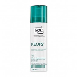 RoC Keops Desodorizante Spray Fresco - 100 mL - comprar RoC Keops Desodorizante Spray Fresco - 100 mL online - Farmácia Barre...