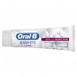 Oral-B 3DWhite Luxe Brilho Glamoroso Pasta Dentífrica Branqueadora Duo - 2 x 75 mL - comprar Oral-B 3DWhite Luxe Brilho Glamo...