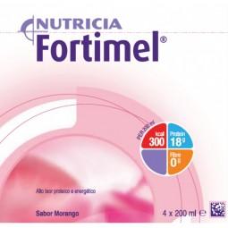 Fortimel Morango - 4 x 200 mL - comprar Fortimel Morango - 4 x 200 mL online - Farmácia Barreiros - farmácia de serviço