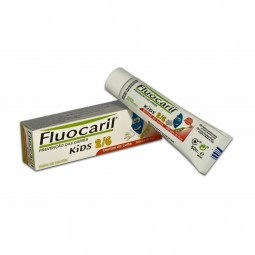 Fluocaril Kids Pasta de Dentes Morango - 50 mL - comprar Fluocaril Kids Pasta de Dentes Morango - 50 mL online - Farmácia Bar...