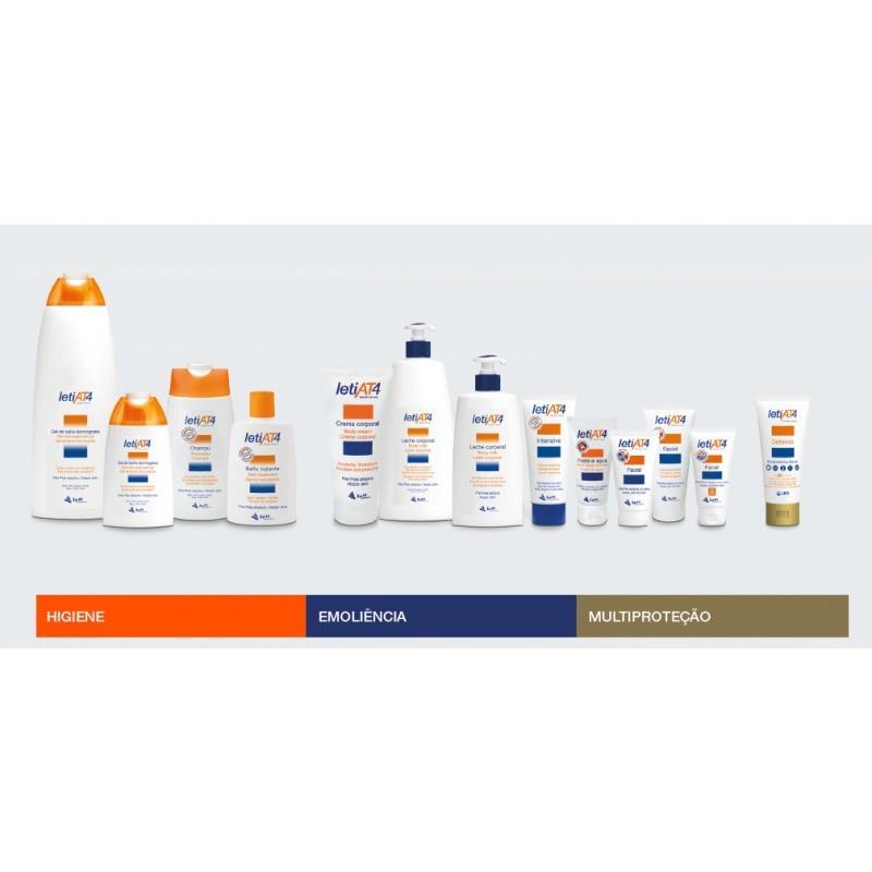 Leti LetiAT4 Champô - 250 mL - comprar Leti LetiAT4 Champô - 250 mL online - Farmácia Barreiros - farmácia de serviço