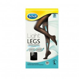 Dr. Scholl Light Legs Collant Compressão 20Den Preto L - 1 par de collants - comprar Dr. Scholl Light Legs Collant Compressão...