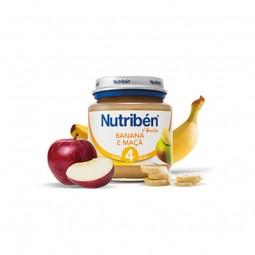 Nutribén 1º Boião Banana e Maça - 130 g - comprar Nutribén 1º Boião Banana e Maça - 130 g online - Farmácia Barreiros - farmá...