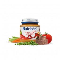 Nutribén 1º Boião Vitela com Legumes - 130 g - comprar Nutribén 1º Boião Vitela com Legumes - 130 g online - Farmácia Barreir...