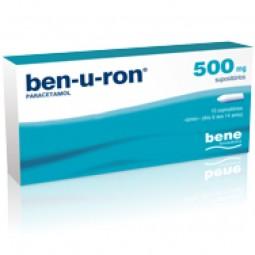 Ben-U-Ron 500mg - 10 Supositórios - comprar Ben-U-Ron 500mg - 10 Supositórios online - Farmácia Barreiros - farmácia de serviço
