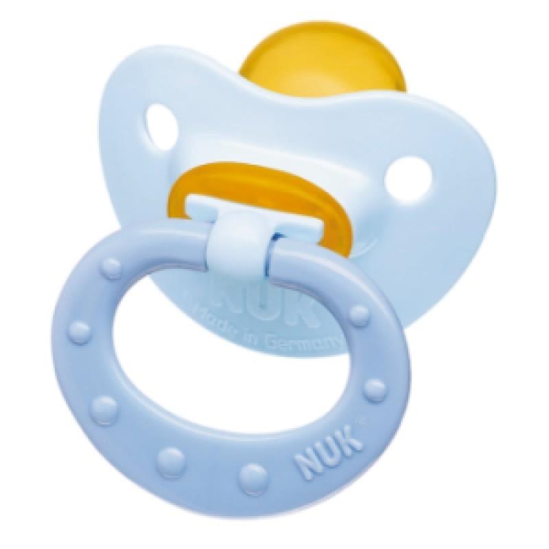 Nuk Classic Baby Blue Chupeta Látex T1 0-6M - 2 chupetas - comprar Nuk Classic Baby Blue Chupeta Látex T1 0-6M - 2 chupetas o...