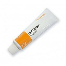 Ulcerase - 0,6 U/g-30g - comprar Ulcerase - 0,6 U/g-30g online - Farmácia Barreiros - farmácia de serviço