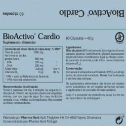 BioActivo Cardio - 60 cápsulas - comprar BioActivo Cardio - 60 cápsulas online - Farmácia Barreiros - farmácia de serviço