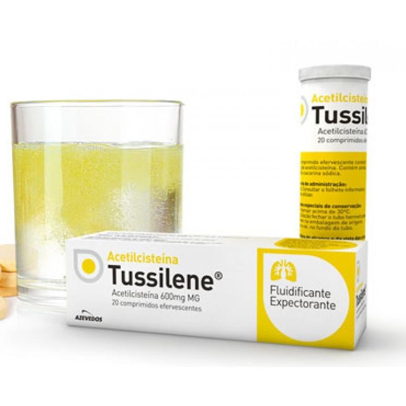 Acetilcisteína Tussilene - 600 mg - comprar Acetilcisteína Tussilene - 600 mg online - Farmácia Barreiros - farmácia de serviço