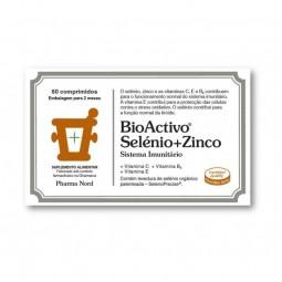 BioActivo Selénio + Zinco - 60 comprimidos - comprar BioActivo Selénio + Zinco - 60 comprimidos online - Farmácia Barreiros -...