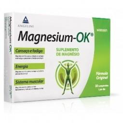 Magnesium-Ok - 30 comprimidos - comprar Magnesium-Ok - 30 comprimidos online - Farmácia Barreiros - farmácia de serviço