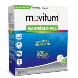Movitum Magnésio FOS Ampolas - 20 ampolas bebíveis - comprar Movitum Magnésio FOS Ampolas - 20 ampolas bebíveis online - Farm...
