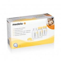 Medela Frascos Leite Materno - 3 frascos (150 mL) - comprar Medela Frascos Leite Materno - 3 frascos (150 mL) online - Farmác...