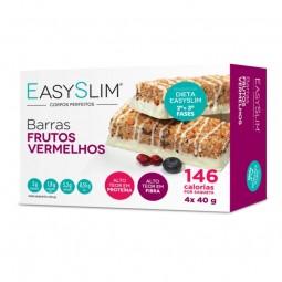 EasySlim Barras Frutos Vermelhos - 4 x 40 g - comprar EasySlim Barras Frutos Vermelhos - 4 x 40 g online - Farmácia Barreiros...