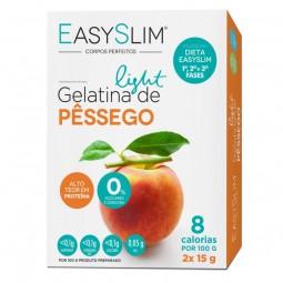EasySlim Gelatina Light Pêssego - 2 x 15 g - comprar EasySlim Gelatina Light Pêssego - 2 x 15 g online - Farmácia Barreiros -...