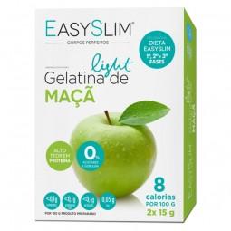 EasySlim Gelatina Light Maçã - 2 x 15 g - comprar EasySlim Gelatina Light Maçã - 2 x 15 g online - Farmácia Barreiros - farmá...