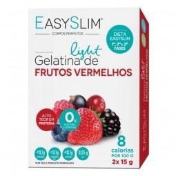 EasySlim Gelatina Light Frutos Vermelhos - 2 x 15 g - comprar EasySlim Gelatina Light Frutos Vermelhos - 2 x 15 g online - Fa...