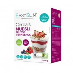 EasySlim Muesli Frutos Vermelhos - 7 x 30 g - comprar EasySlim Muesli Frutos Vermelhos - 7 x 30 g online - Farmácia Barreiros...