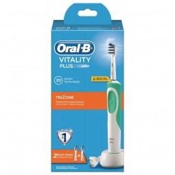 Oral-B Escova de Dentes Elétrica Vitality Plus TriZone - 1 escova de dentes elétrica - comprar Oral-B Escova de Dentes Elétri...