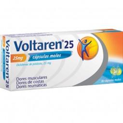 Voltaren 25mg - 20 cápsulas - comprar Voltaren 25mg - 20 cápsulas online - Farmácia Barreiros - farmácia de serviço