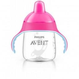 Philips Avent Copo Com Bico Rosa 12m+ - 1 copo (260 mL) - comprar Philips Avent Copo Com Bico Rosa 12m+ - 1 copo (260 mL) onl...