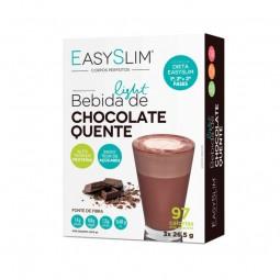 EasySlim Bebida de Chocolate Quente - 3 x 26,5 g - comprar EasySlim Bebida de Chocolate Quente - 3 x 26,5 g online - Farmácia...