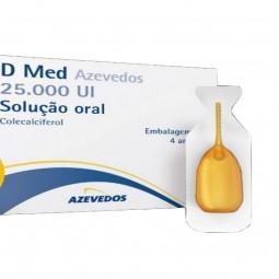 D Med Azevedos - 25000 UI/1 mL - comprar D Med Azevedos - 25000 UI/1 mL online - Farmácia Barreiros - farmácia de serviço
