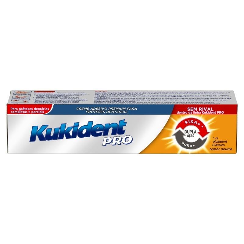 Kukident Pro Dupla Ação Creme Prótese Dentária - 60 g - comprar Kukident Pro Dupla Ação Creme Prótese Dentária - 60 g online ...