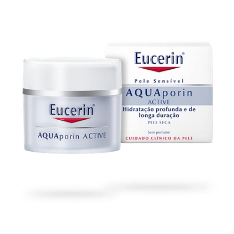 Eucerin AQUAporin Active Creme Pele Seca - 50 mL - comprar Eucerin AQUAporin Active Creme Pele Seca - 50 mL online - Farmácia...