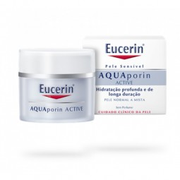 Eucerin AQUAporin Active Creme Pele Normal a Mista - 50 mL - comprar Eucerin AQUAporin Active Creme Pele Normal a Mista - 50 ...
