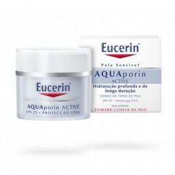 Eucerin AQUAporin Active Creme SPF 25 Proteção UVA - 50 mL - comprar Eucerin AQUAporin Active Creme SPF 25 Proteção UVA - 50 ...
