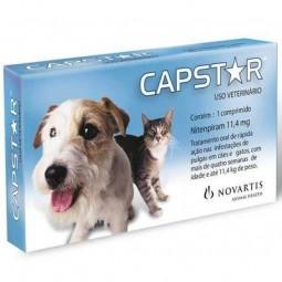 Capstar 11,4 mg - Para gatos e cães pequenos - 6 comprimidos - comprar Capstar 11,4 mg - Para gatos e cães pequenos - 6 compr...