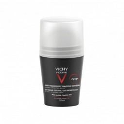 Vichy Homme Desodorizante Roll-On Antitranspirante 72H - 50 mL - comprar Vichy Homme Desodorizante Roll-On Antitranspirante 7...