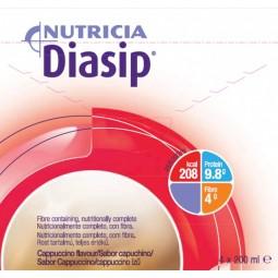 Diasip Cappuccino - 4 x 200 mL - comprar Diasip Cappuccino - 4 x 200 mL online - Farmácia Barreiros - farmácia de serviço