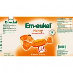 Em-Eukal Rebuçados c/ Recheio Mel - 50 g - comprar Em-Eukal Rebuçados c/ Recheio Mel - 50 g online - Farmácia Barreiros - far...