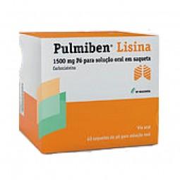 Pulmiben Lisina - 1500 mg - comprar Pulmiben Lisina - 1500 mg online - Farmácia Barreiros - farmácia de serviço